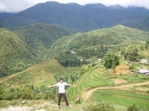 I'm in Tả Phìn mountain village, Sapa